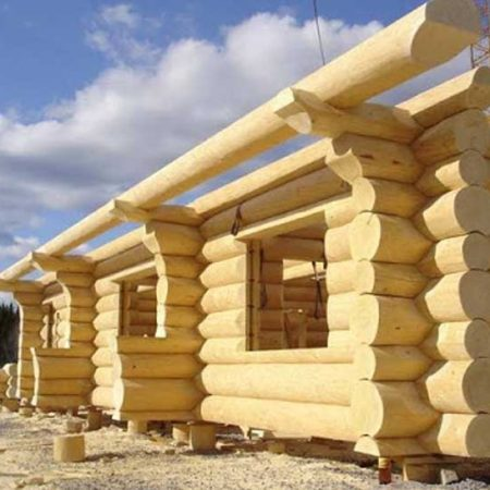 Дерево как строительный материал для дома